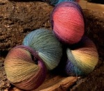 Chroma yarn from Knit Picks, love their colors!