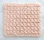 Crossed Single Crochet Washcloth