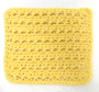 Piggyback Stitch Washcloth