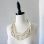 Solomon's Knot Scarf Necklace