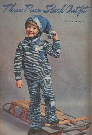 I love crochet pants!