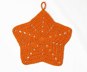 starfish washcloth