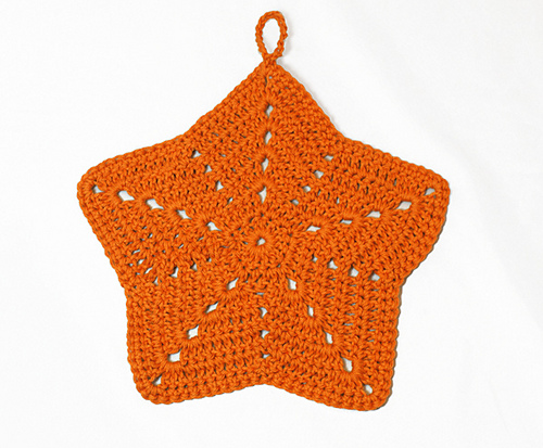 Starfish Washcloth Knit And Crochet Ever After