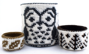 Reversible Trio of Forest Baskets