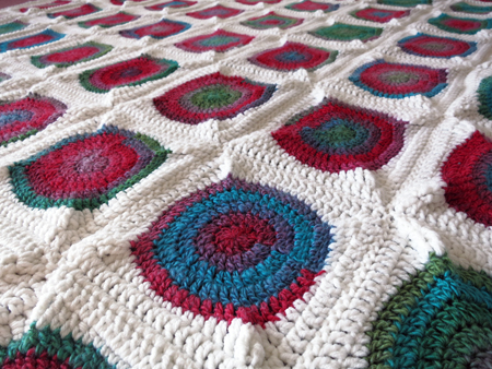 Chromatic Blanket Pattern
