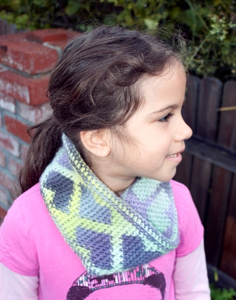 Forever Hearts Reversible Cowl