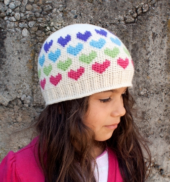Hearts Abound Beanie