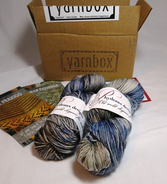 Look, yarn in the box!