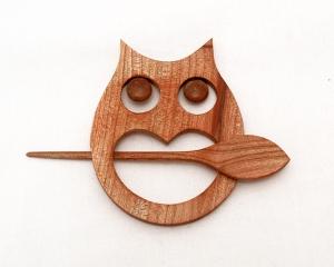 Owl Shawl Pin