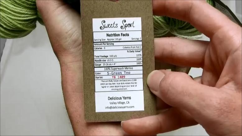 Looks like a food label.