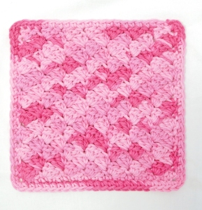 Slant Stitch Washcloth