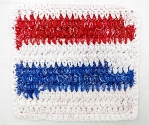 Dipped Double Crochet Washcloth