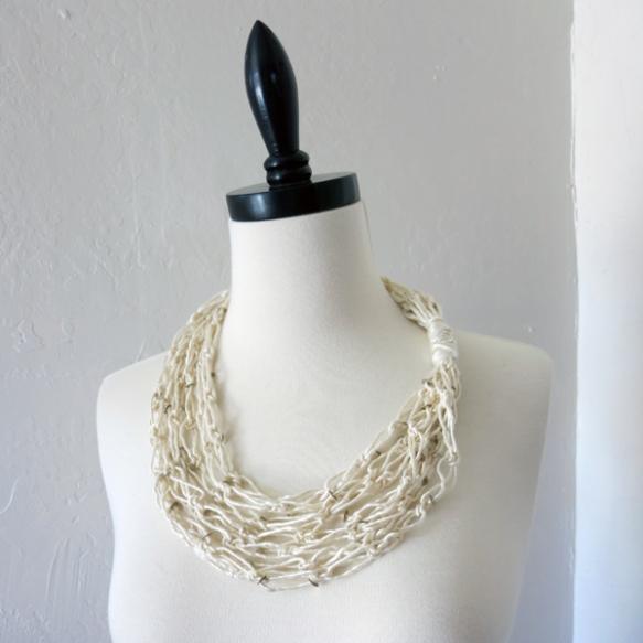 Solomon's Knot Scarf Necklace