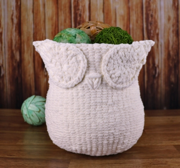 The Owl Basket Now In Knit 50 Off Limited Time Knit And