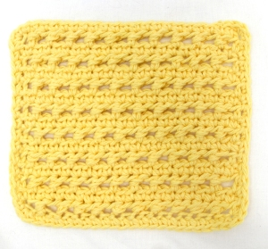 Piggyback Stitch Washcloth Knit And Crochet Ever After