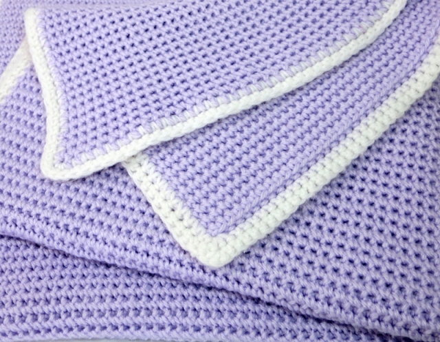 Waffle Weave Stitch Baby Blanket Knit And Crochet Ever After