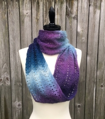 Fall Infinity Scarf Crochet Pattern