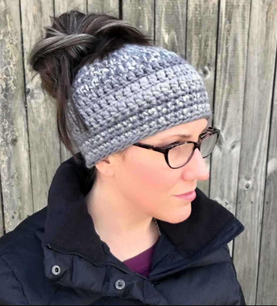 Messy Bun Beanie – Knit and Crochet Ever After 77abc24def0