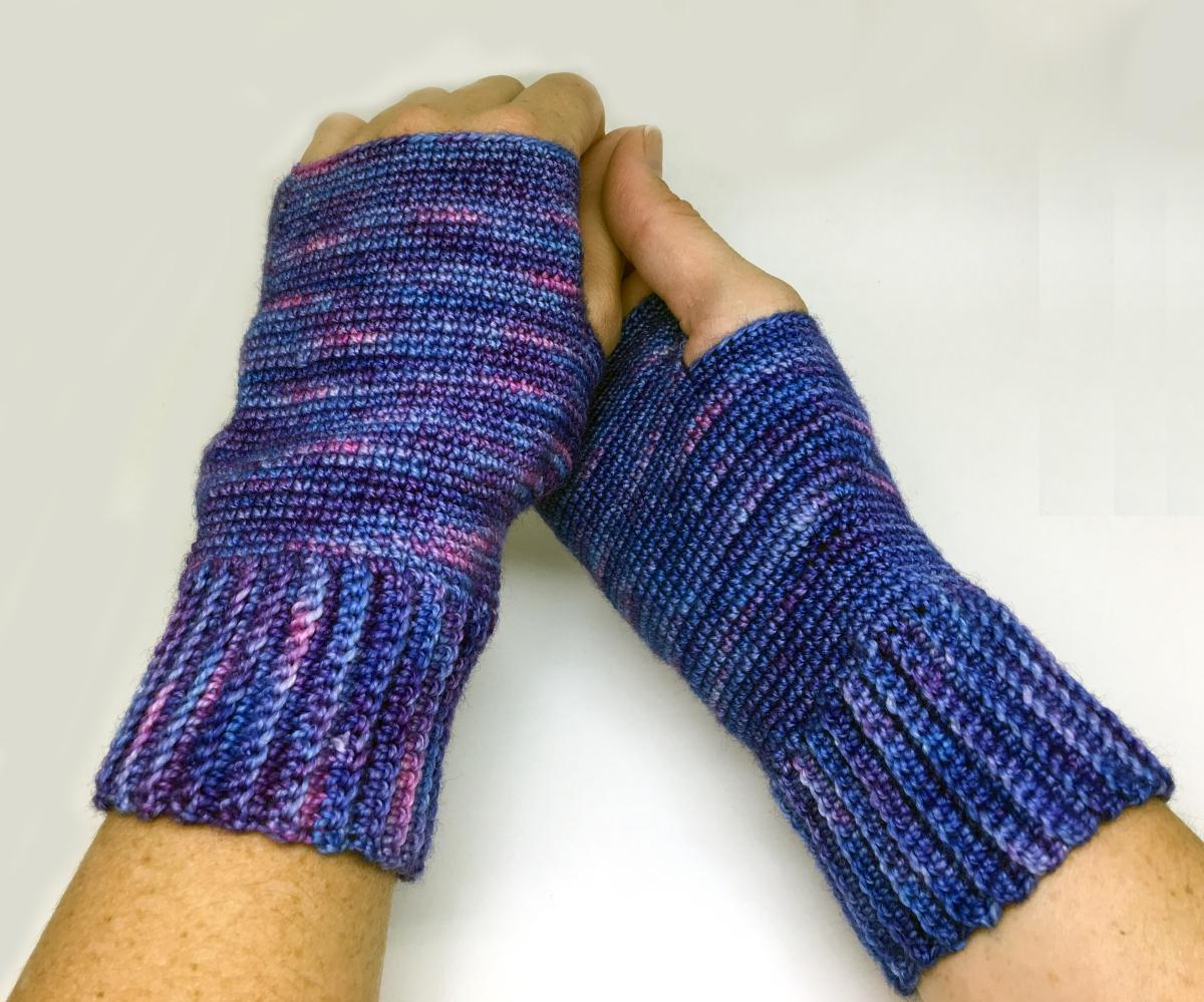 The Better Half Fingerless Gloves - Knit and Crochet Ever ...